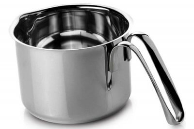 SC-140 Stainless Steel Milk Pot