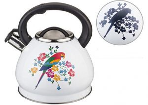 SK-9012TF Stainless Steel Whistling Tea Kettle
