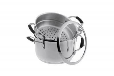 2-Tier Stainless Steel Steamer